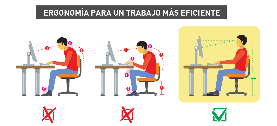 Especialista de terapia ocupacional de la UPCH recomienda la ergonomía para hacer más eficiente el trabajo remoto